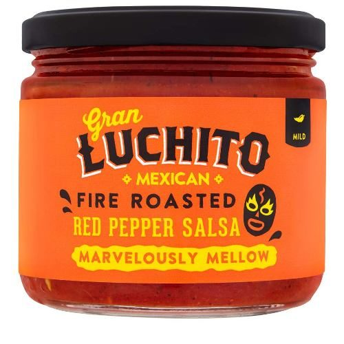 Gran Luchito Fire Roasted Red Pepper Salsa