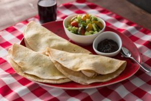 Brie Quesadilla with Jalapeno Raspberry Jam is a delicious yet very simple and Easy 1-2-3 recipe. You can make it with any flavor jam, and add chicken, beef and any other ingredients you like. This time around we added shredded chicken. It was fabulous!