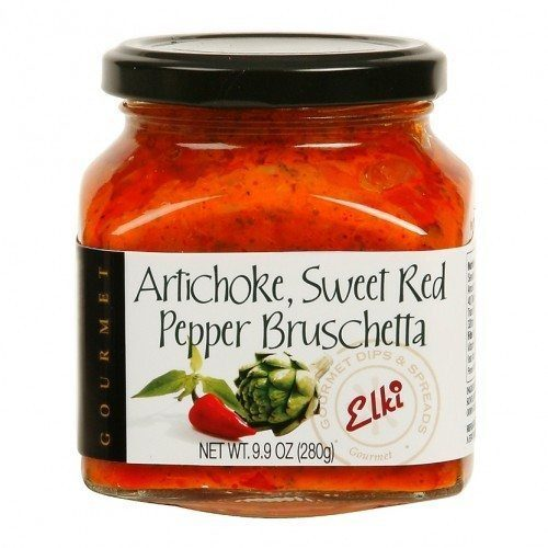 Artichoke Sweet Red Pepper Bruschetta. Spoonabilities.com