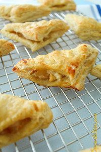 This Pear Honey Turnovers will surprise you with the sweet combination from the Honey Pear Jam, fresh pear and the creamy and strong taste from the Gorgonzola will create a perfect ending for a fabulous dinner. It's special and easy to make... as easy as 1-2-3. Please find this recipe or more recipe ideas at Spoonabilities.