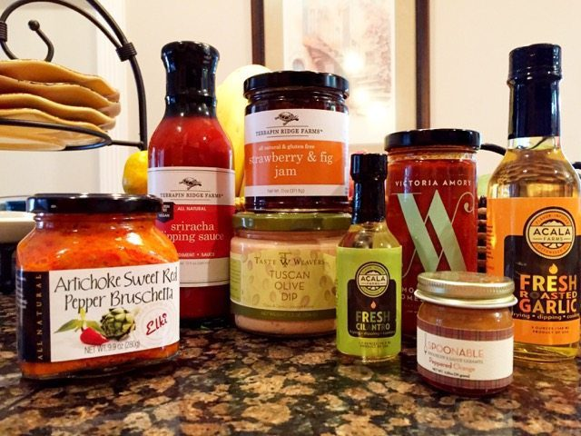 """We received this great message from our friend Karmen who received her products the other day. LOVE that we can be the catalyst for trying new things in the kitchen! """"I am finally getting into the kitchen (yikes!) after 8 weeks of total avoidance, and here's the inventory picture of what I received from Spoonabilities. I already know for sure that Sriracha dipping sauce will be a hit, and am looking forward to try some of your enclosed recipes with the yummies you have sent. Thank you so much for your thoughtfulness and sharing! Big hugs to both."""" Karmen. #Spoonabilities www.Spoonabilities.com"""