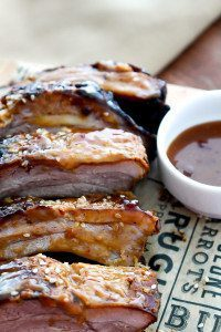 Horseradish Mustard Baby Back Ribs made with Horseradish Dijon Mustard from Brown Dog Fancy Condiments