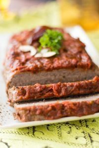 Easy Meatloaf with Moroccan Date Sauce. Feature product Moroccan Date Sauce