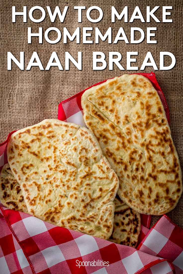 How to Make Homemade Naan Bread | Step by Step Photos