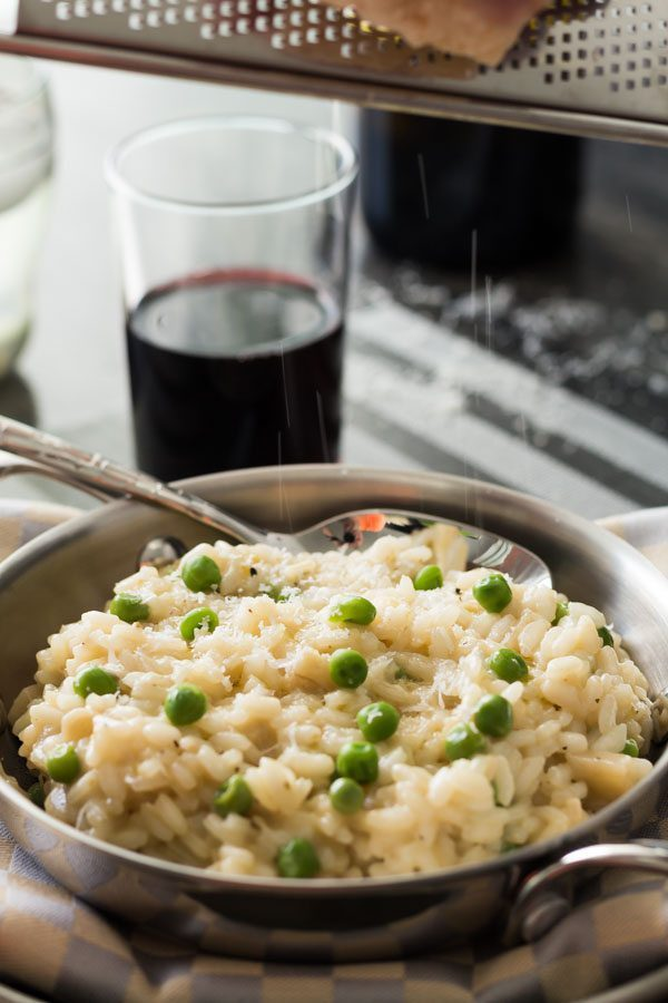 Easy Parmesan Artichoke Risotto. Featuring one of our favorite products Artichoke Parmesan Tapenade, price $9.99. Find this product and more easy recipes at Spoonabilities.com