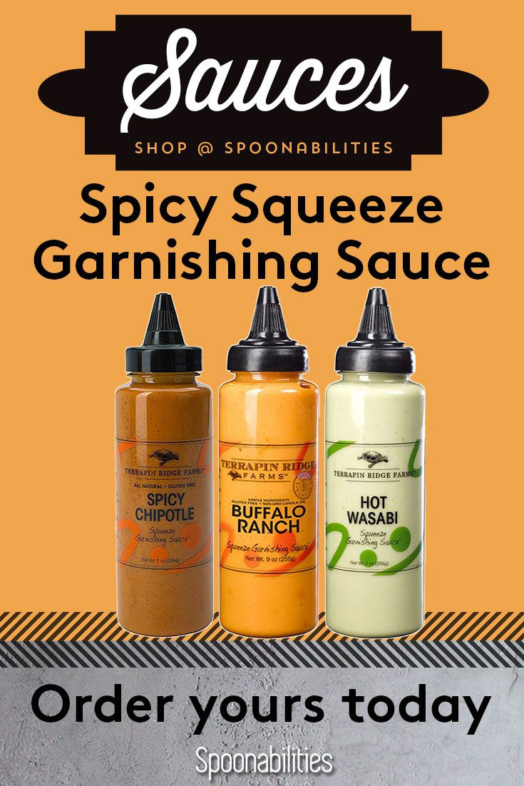 Spicy Squeeze Garnishing Sauce 3-pack Gift Set