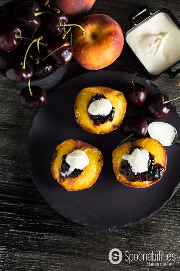 Stone Fruit Broiled Peaches
