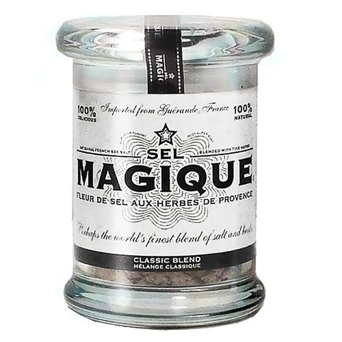 Fleur De Sel French Sea Salt. Blended by hand from all-natural ingredients: Spicy Blend is batch-blended from all-natural ingredients: Fleur De Sel from Guérande France, Herbes De Provence Including Savory, Thyme, Marjoram, and Lavander. Try this gourmet salt at Spoonabilities.com