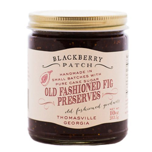 Old Fashioned Fig Preserves. This delicious all natural fig jam is made with only 3 ingredients: fresh figs, pure cane sugar, and lemon juice. Simmered in small, handmade batches by Blackberry Patch. Spoonabilities.com