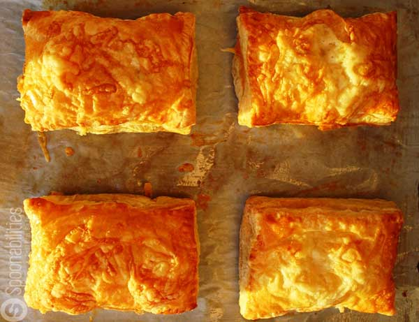 Croque Monsieur with Pumpkin Honey Mustard wrapped in a puff pastry. This recipe is a play on the traditional croque monsieur we had in Paris a few years ago. You will love it. Spoonabilities.com