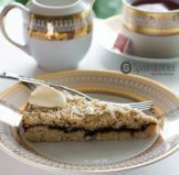 Fig Almond Cake Crumble Recipe | Fig Almond Torte