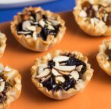 Fig Almond Tartlets Appetizer Recipe