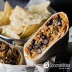 Southwestern Chicken Wraps recipe made with Red Pepper Relish