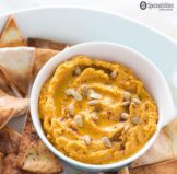 Pumpkin Hummus with Toasted Cumin Cottonseed Oil