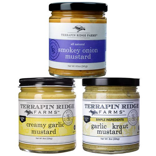 Garlic and Onion Lover Mustard Set