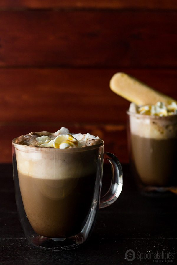 Pumpkin Spice Mocha is available all year round. Make it at home with Pumpkin Spice Syrup, our favorite gourmet product from Blackberry Patch. Spoonabilities.com