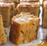 Salted Caramel Apple Blondies