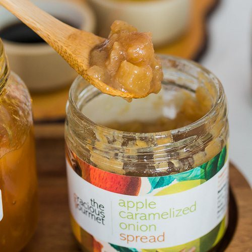 Apple Caramelized Spread by The Gracious Gourmet. Available at Spoonabilities.com