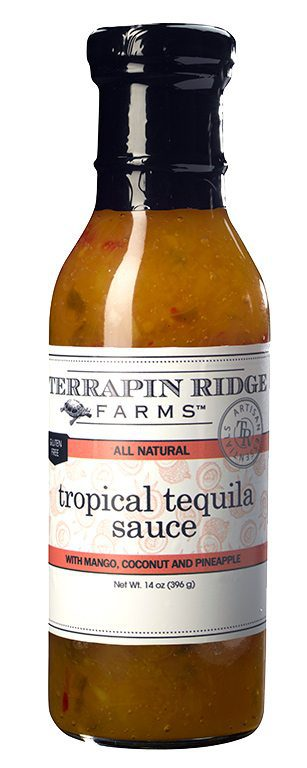 Gourmet Glaze and Sauce Gift Set 3-pack with Tropical Tequila Sauce from Terrapin Ridge Farms. You can use them to broil, bake, Grill or just out of the jar to elevate your everyday meals into delicious gourmet meals. Available at Spoonabilities.com