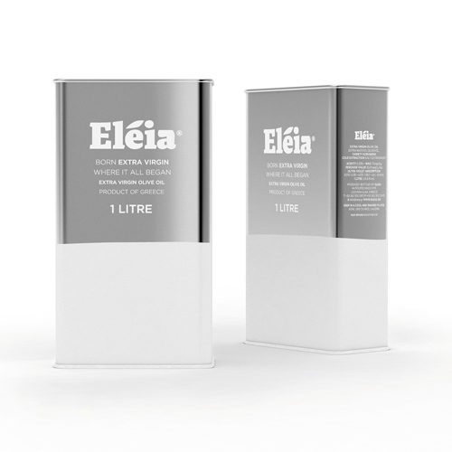 Eleia Kosher certified Extra Virgin Olive Oil is a high quality oil with fruity and intense aroma and a well-balanced taste alluding to wild herbs. Shown in 1 Liter Metal Tin. Available at Spoonabilities.com
