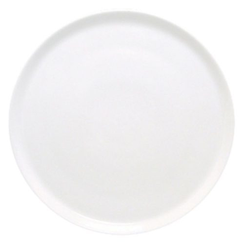 Fortessa Fortaluxe Vitrified China Dinnerware, Cinzia Pizza Plate, 12.5-Inch