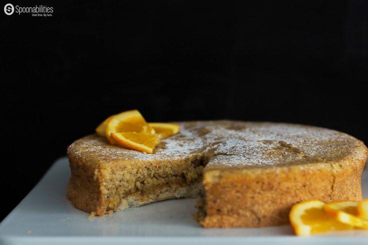 Hazelnut Citrus Torte is typically a Jewish dessert made during Passover. Nutty and moist, this recipe is flourless, gluten free, and amazingly delicious. Spoonabilities.com