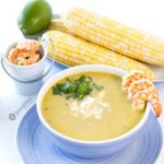 Creamy Hatch Green Chile Soup is packed with fresh flavors