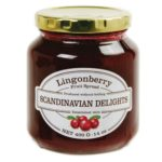 Lingonberry Fruit spread Lingonberry Jam by Scandinavian Delights. Available at Spoonabilities.com