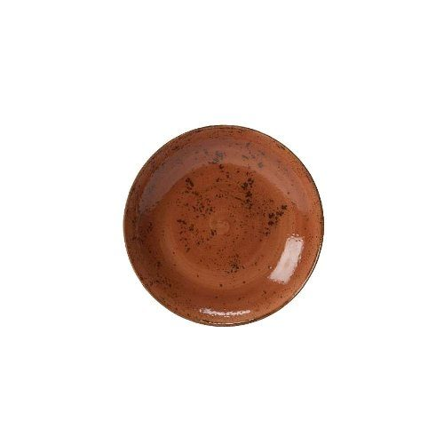 Steelite 11330569 Craft 10 inch Terracotta Coupe Bowl