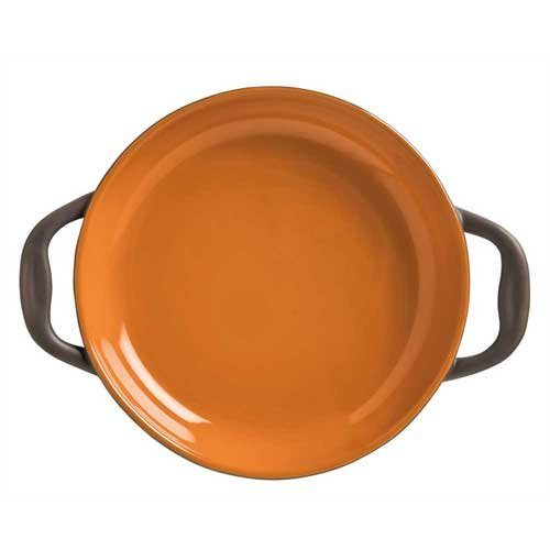 World Tableware Inc Coos Bay Pumpkin Round Server