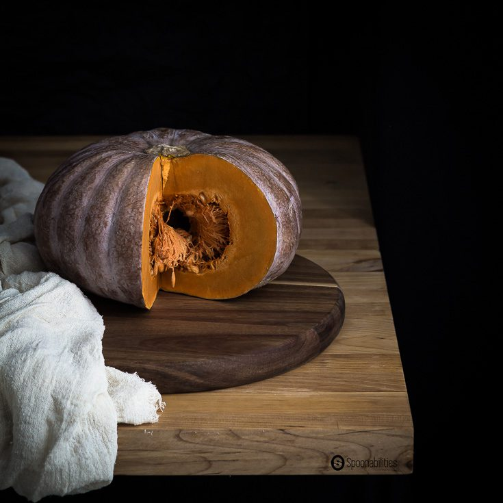 Roasted Pumpkin Bisque is made from real Calabazas and roasted with honey, olive oil and Ras Hanout for a Moroccan aromatic touch. Spoonabilities.com
