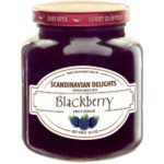 Scandinavian Delights Blackberry Fruit Spread. Blackberry Jam from Elki's. Available at Spoonabilities.com