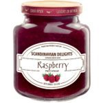Scandinavian Delights Raspberry Fruit Spread. Raspberry Jam from Elki. Available at Spoonabilities.com
