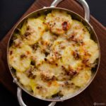 Leek & Potato Gratin is a rich and satisfying side dish recipe that will complement your Christmas table or any other special occasion or holiday. Spoonabilities.com