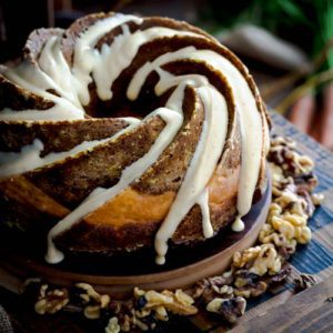 whole Pumpkin Carrot Bundt Cake