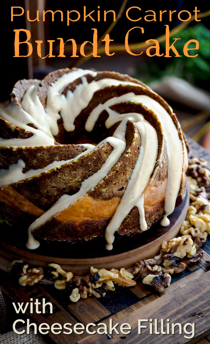 how to put filling in a bundt cake