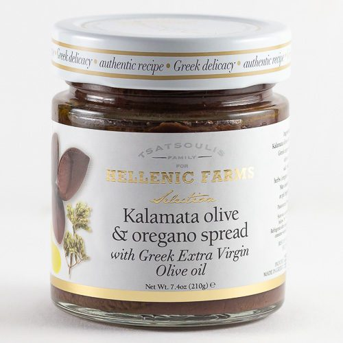 Kalamata Olive & Oregano Spread from Hellenic Farms. Available at Spoonabilities.com