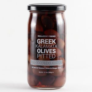 Jar of Pitted Greek Kalamata Olives from Hellenic Farms