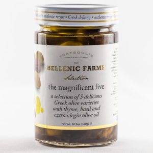 Magnificent Five Greek Olives from Hellenic Farms at Spoonabilities