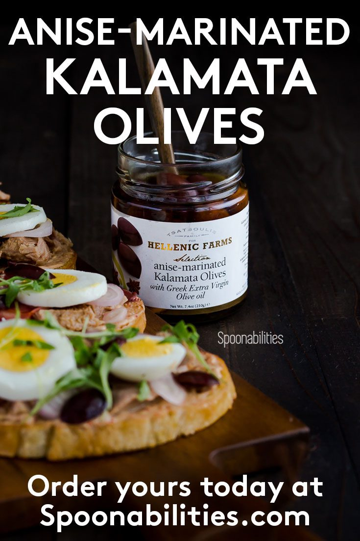 Anise-marinated Kalamata Olives