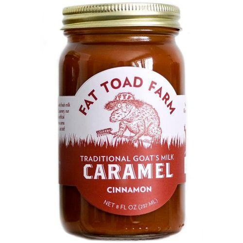 Caramel Cinnamon Goats Milk Fat Toad Farm