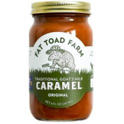 Caramel Original Goats Milk Fat Toad Farm