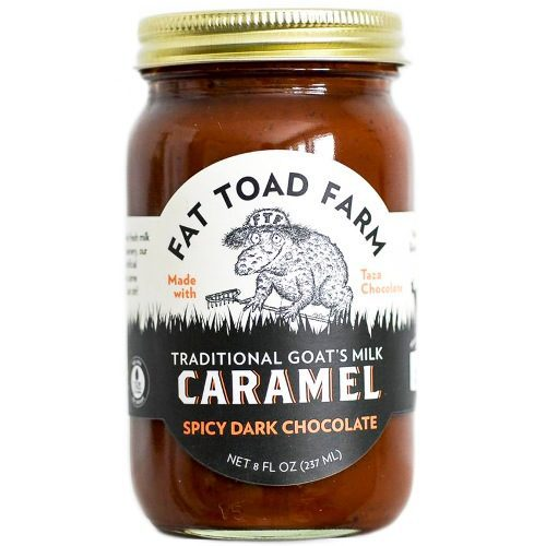 Caramel Spicy dark chocolate Goats Milk Fat Toad Farm
