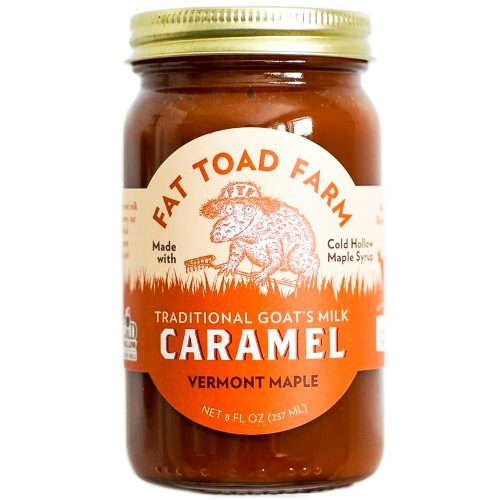 Caramel Vermont Maple Goats Milk Fat Toad Farm