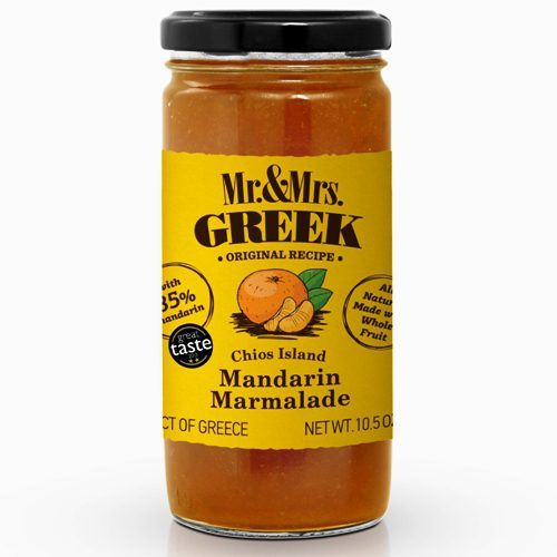 Mandarin Marmalade - Mr. & Mrs. Greek