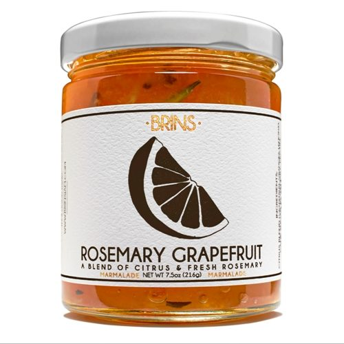 Rosemary Grapefruit Jam - Brins - Spoonabilities