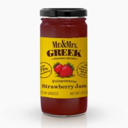 Strawberry Jam Peloponnese Mr & Mrs Greek