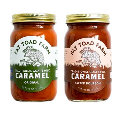 Caramel Sauce you choose 2-pack of any two Fat Toad Farm Goats Milk Caramel Sauces