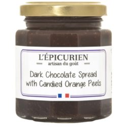 Dark Chocolate & Candied Orange Spread L'Epicurien