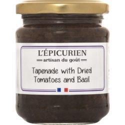 Dried Tomato & Basil Tapenade L'Epicurien